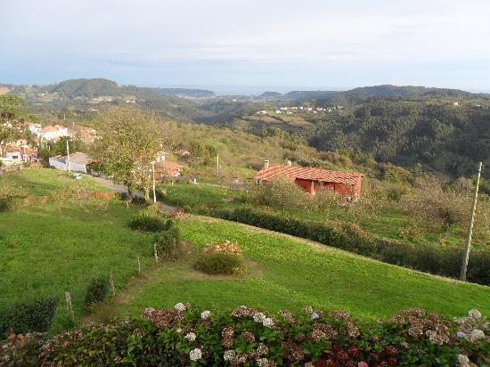 La Casona de Rales: Vistas a la Ría de Villaviciosa