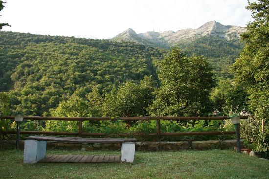 Valle dei Mulini : IL BELLISSIMO PANORAMA DEL MONTE CAPANNE