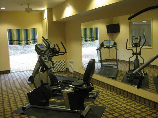 Comfort Suites Hot Springs: Workout room