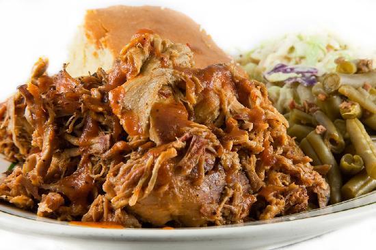 Blue Ribbon BBQ: North Carolina Pulled Pork Platter