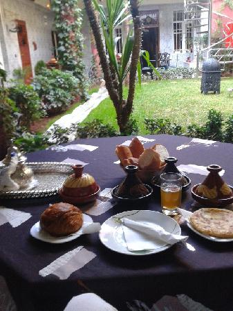 Dar Aliane: Le petit-dej