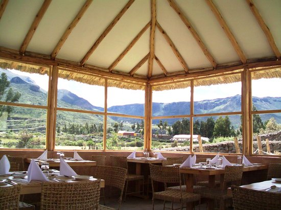 Killawasi Lodge: VISTA COMEDOR