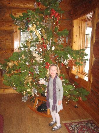 Wild Horse Inn: Christmas tree