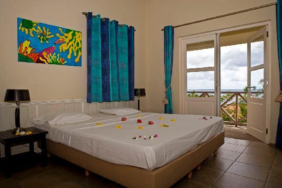 Caribbean Club Bonaire's Bedroom of Cottage Deluxe