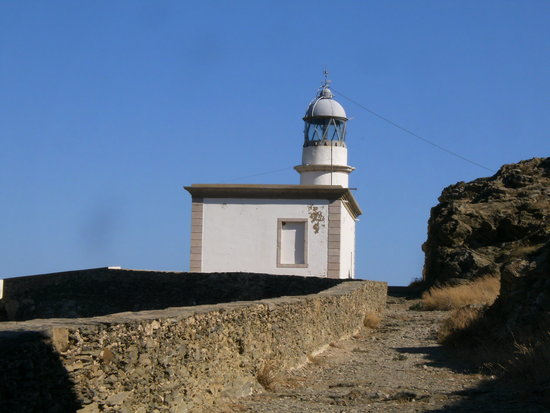 ‪Far de Cala Nans (Cala Nans Lighthouse)‬