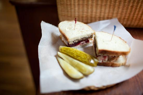 The Mercantile: A yummy sandwich