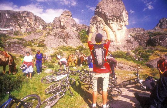 Mountain Bike Tours with Sacred Rides: Marcahuasi Stone Forest