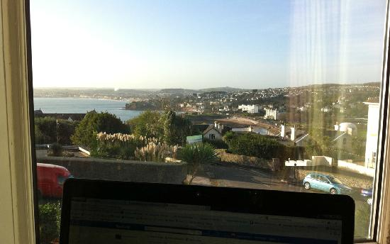 Brampton Court Hotel: View across the bay from our window