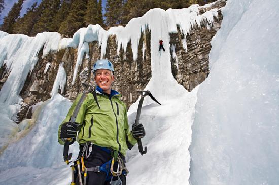 Banff, Canada: Ice Climbing Johnston Canyon