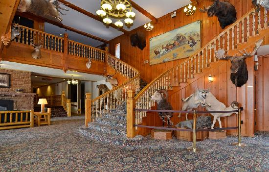 Stage Coach Inn lobby - a Yellowstone original
