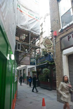 Old and new in Old Bloomsbury