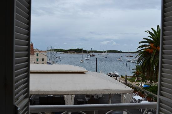 The Palace Hvar Hotel: View from our room