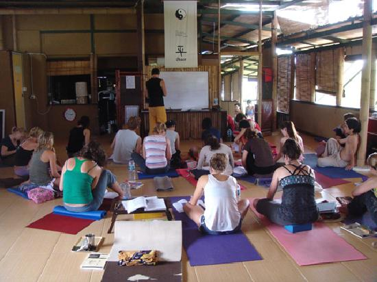 Yoga Shala at Serenity: middle of class
