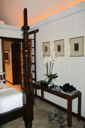 Eden Rock - St Barths: The James Suite that door leads to the closet and bar area and to the suites private pool area
