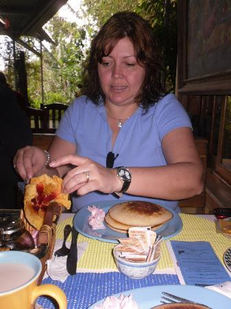 Punta del Encuentra: Desayuno maravilloso
