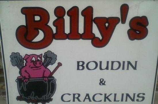 Billy's Boudin & Cracklins