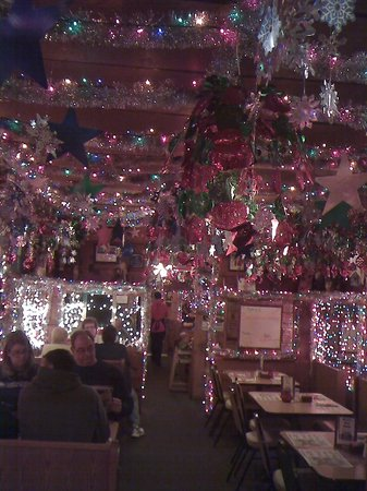 Marti's Place: inside xmas lights