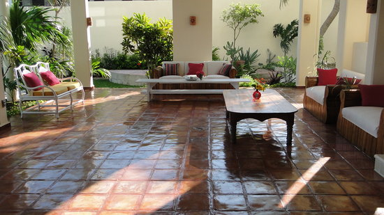 Casa Caribe Bed and Breakfast : The patio
