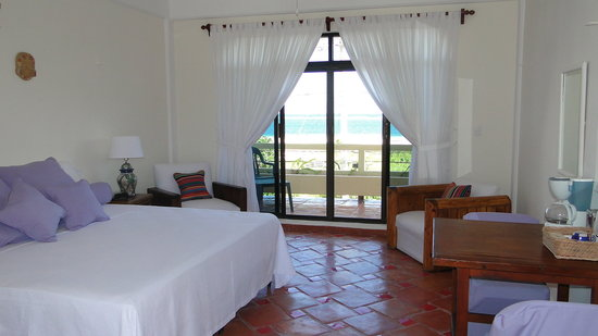 Casa Caribe Bed and Breakfast : Upstairs room