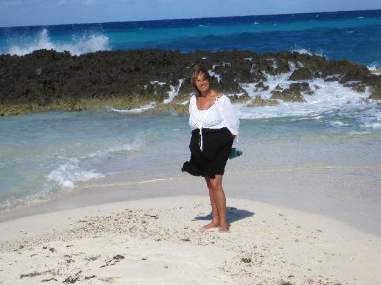 Melia Buenavista: UNE PARTIE DE LA PLAGE QUI AVANCE EN POINTE DANS LA MER , MAGNIFIQUE!!