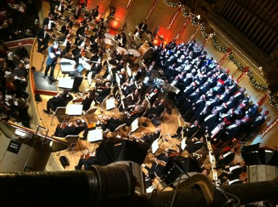 The Boston Pops: View from top balcony
