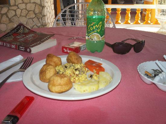 Summerset Village: ackee and saltfish for breakfast