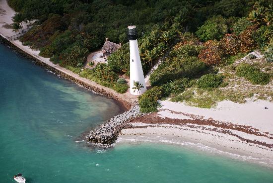 Miami Seaplane Tours: Light House Near Key Biscane