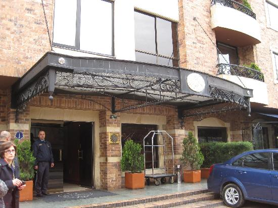 101 Park House: Front of hotel