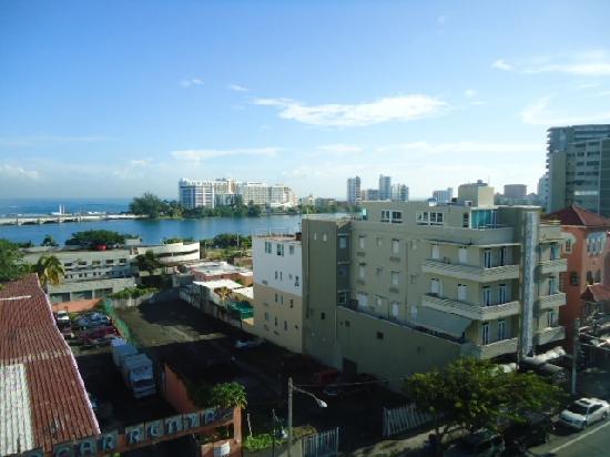 Hotel Miramar: Vista desde la habitación