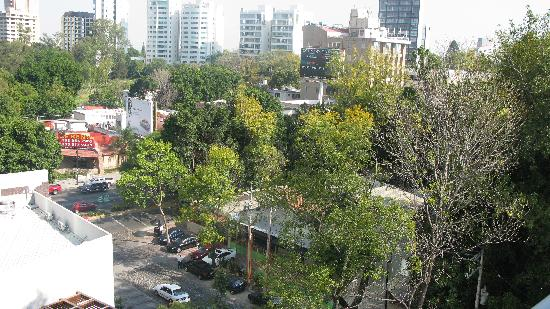 ‪‪NH Collection Guadalajara Providencia‬: view from balcony‬