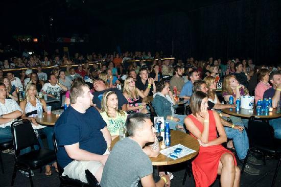 Dells Comedy Club : Having a good time