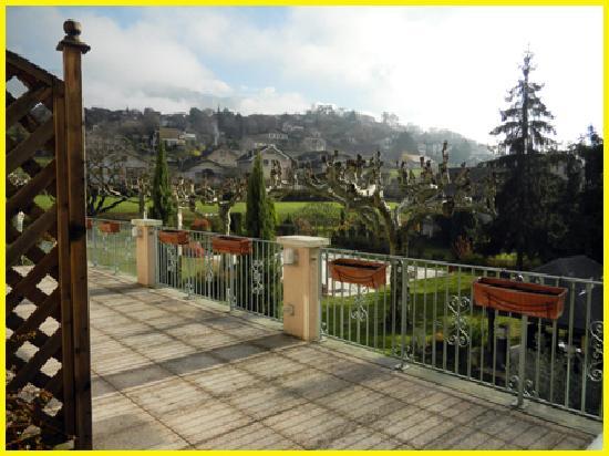 Auberge Saint Simond - Hotel - Aix-les-Bains : My veranda
