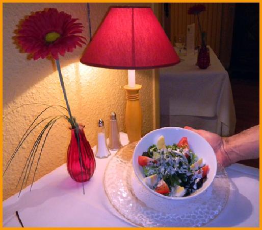 Auberge Saint Simond - Hotel - Aix-les-Bains : salade melee