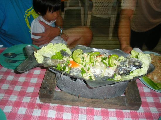 Rimhad Seafood: Steamed Sea Bass