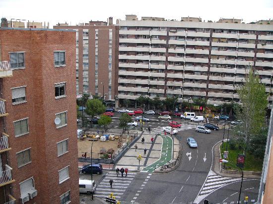 Pensión Santa Gema: Blick aus dem Fenster