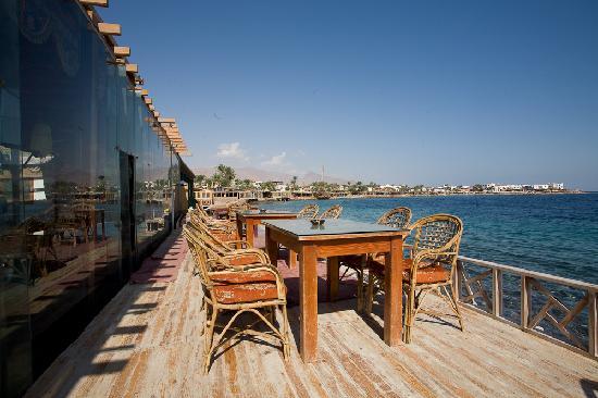 Dahab Plaza Hotel: therestaurant's veranda