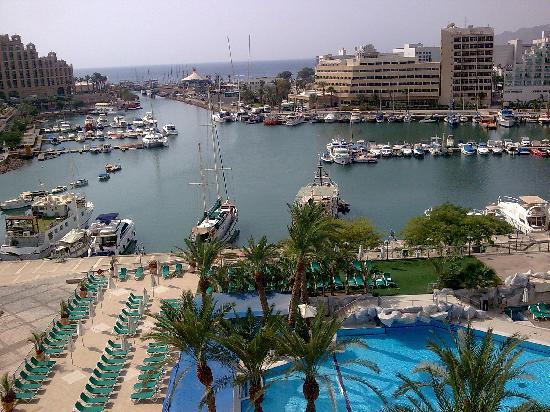 Crowne Plaza Hotel Eilat : balcony view