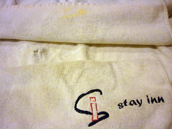 Stay Inn Hotel: The towel