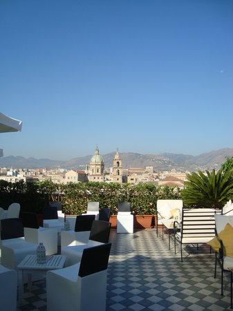 Ambasciatori Hotel: A view from terrace