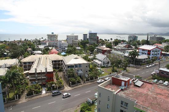 Tanoa Plaza Suva : Room with a view