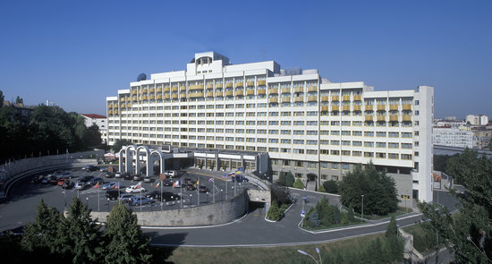 President Hotel: Front Face