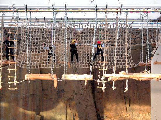 Edinburgh International Climbing Arena: Aerial Assault