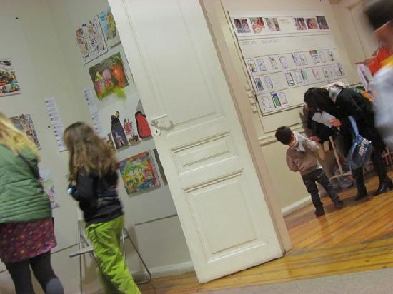 Μουσείο Ελληνικής Παιδικής Τέχνης: Special area for you to exhibit your artworkrk at the