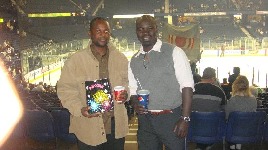 Allstate Arena: Me and my Buddy