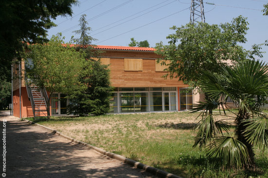 Anduze, Frankrig: Notre bâtiment en ossature bois