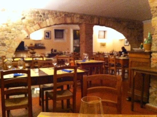 Osteria Passaparola Nell'antico Frantoio: la sala
