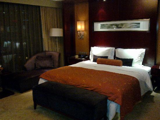 Chongqing Jinjiang Oriental Hotel: Bedroom
