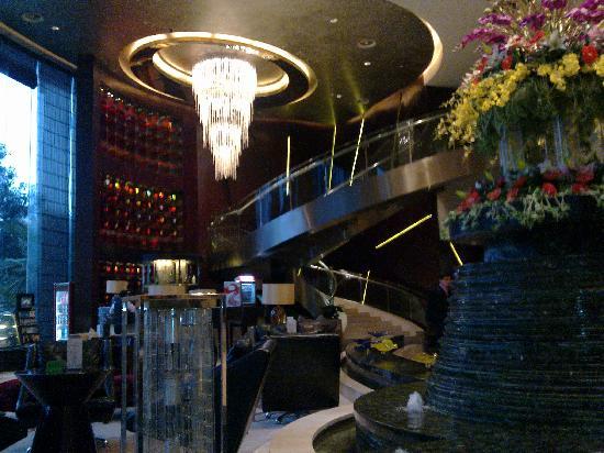 Chongqing Jinjiang Oriental Hotel: lobby