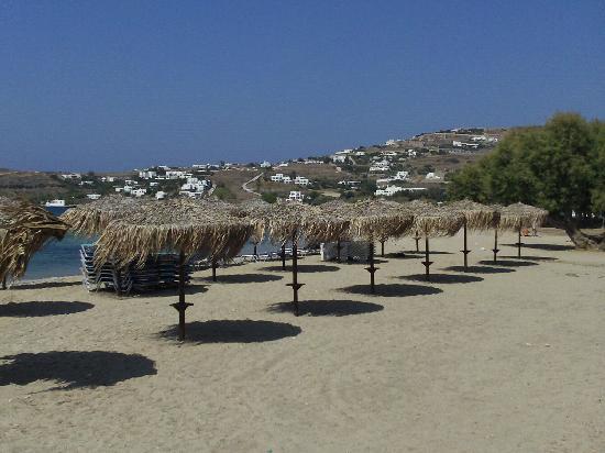 Hotel Aegean Village: Plage Paros