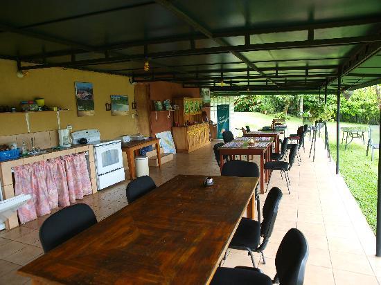 Vista Linda Montaña: Hier kann man lecker essen.